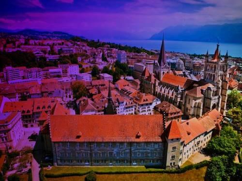 Laussane ciudad Suiza novela erotica el amante
